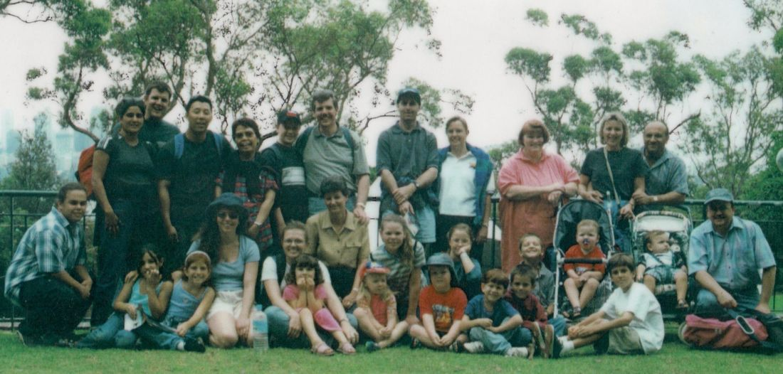 Zoo outing in 2000